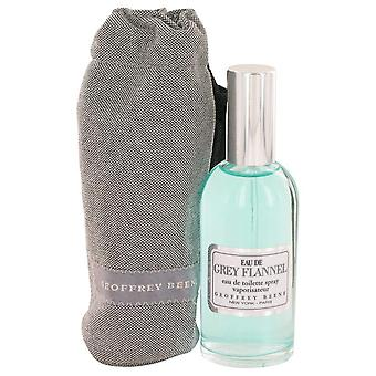 Eau De Grey Flannel Eau De Toilette Spray By Geoffrey Beene 2 oz Eau De Toilette Spray