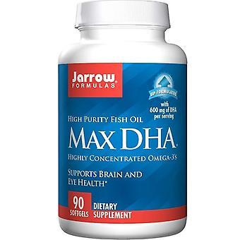 جارو الصيغ ماكس DHA الكبسولات الهلامية 90