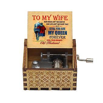 Paras käsikampi puinen laatikko