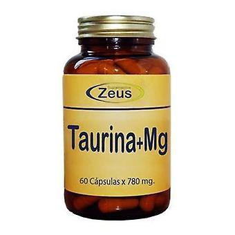 Suplementos Zeus L-Taurine-Mg 60 Capsules