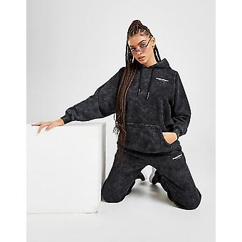 New Supply & Demand Women's Washed High Waisted Joggers from JD Outlet Black