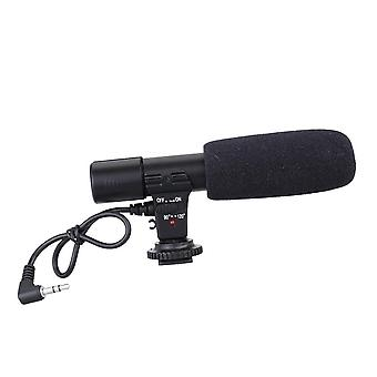Micrófono de grabación de videocámara estéreo