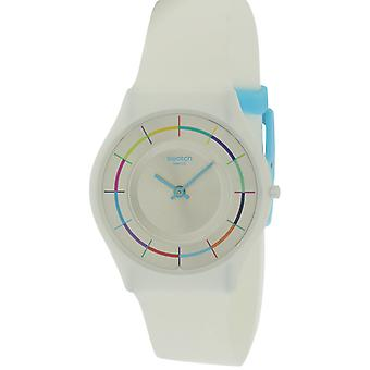 Staal wit PARTY siliconen Unisex horloge SFW109