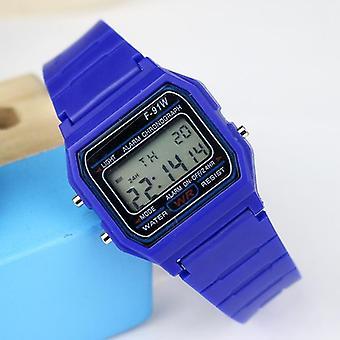 Спортивные цифровые часы, Детский силиконовый ремешок, электронные часы, хронограф