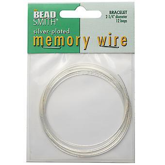 Hukommelse Wire, Armbånd Runde Størrelse Medium 2,25 tommer Diameter, 12 Loops, Forgyldt