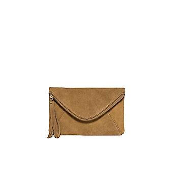Only ONLGISELLE Leather Crossover Bag, Women's Folder Bag, Light Brown, One Size