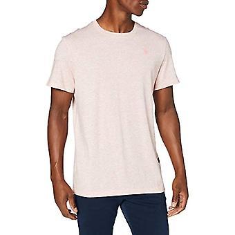 G-STAR RAW Base-s Straight T-Shirt, Bright Acid Htr 336/B513, XX-Small Mens