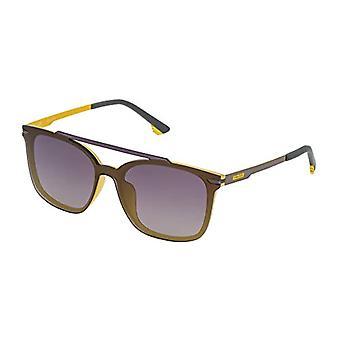 Police SPL528990GBF Sonnenbrille, Grau (Gris), 99.0 Unisex-Erwachsene