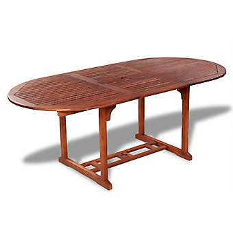 Garden Table Outdoor Extending Dining Table Folding Table  Solid Acacia Wood