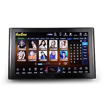 Jogador de karaokê touch screen com disco rígido