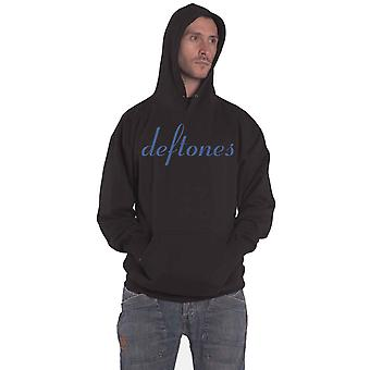 Deftones Hoodie Around The Fur Band Logo new Official Mens Black Pullover