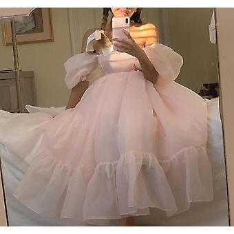 Off The Shoulder Organza Krótkie suknie balowe (Zestaw 2)
