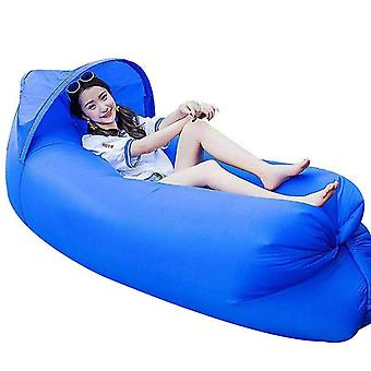 Inflatable Lounger Best Air Lounger Sofa For Camping, Hiking For Pool(Dareblue)