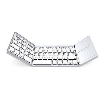 Kannettava Mini Compact Triple Folding -näppäimistö