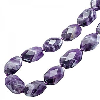 Shipton and Co Ladies Shipton And Co Exclusive Silver And Amethyst Quartz Beads BSS058AU