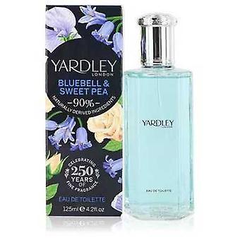 Yardley Bluebell & Sweet Pea By Yardley London Eau De Toilette Spray 4.2 Oz (naiset) V728-552636