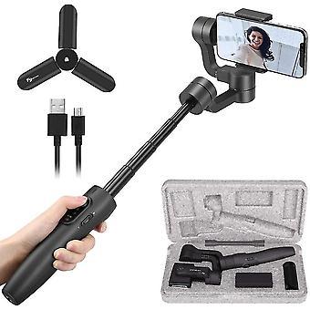 Smartphone 3 axes Cardan portable180mm Poteau extensible
