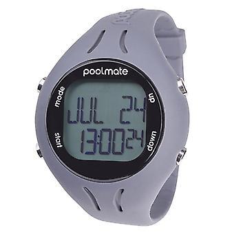 Swimovate Poolmate 2 Swimming Water Sports Lap Counter Tracker Watch Grey