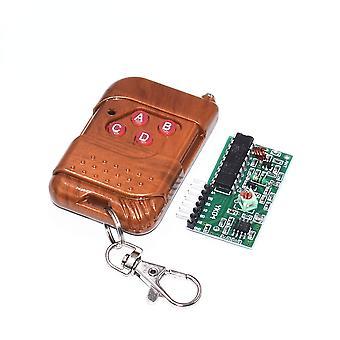 C04 1set ic 2262/2272 4 ch 315mhz key wireless remote control kits receiver module