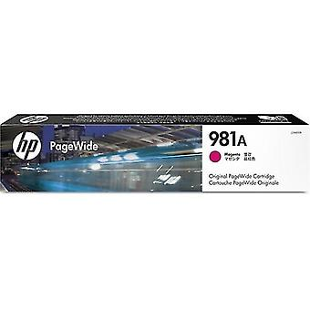 Toner inkjet cartridges j3m69a 981a ink cartridge magenta  6k pages
