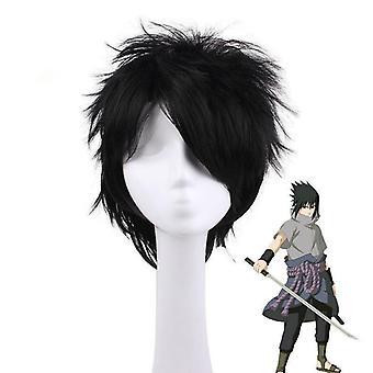 Naruto Uchiha Wigs Sasuke Party Synthetic Hair Wigs