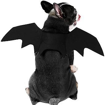 Собака Кошка Летучая мышь Костюм - Хэллоуин Костюм Питомца Крылья Летучей мыши Косплей Костюм Собаки Костюм Кошки Костюм Для вечеринки