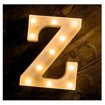 Led Letter Lights Sign 26 Alphabet Night Light Wedding Birthday Party