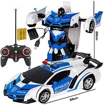 Robot transformador de coche de control remoto