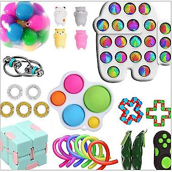 Sensory Decompression Toy Set Puzzle Diy Combination Toys -17
