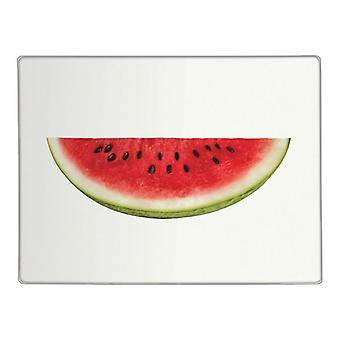 Hälfte Wasser Melone Glas Arbeitsplatte Saver Designküche hacken Schneidebrett