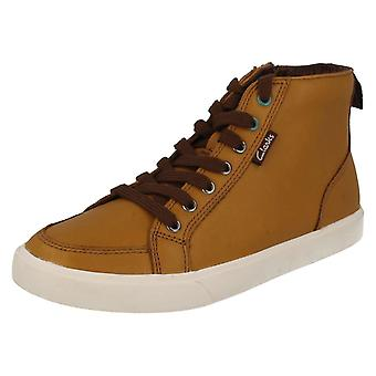 Boys Clarks Casual Ankle Boots Club Jive