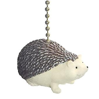 Hedgehog Decorative Ceiling Fan Light Dimensional Pull Clementine Design
