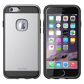 i-Blason-iPhone6-4.7-Unity Series Armored Hybrid TPU plus PC Case-GunMetal