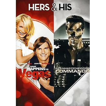 Was passiert in Vegas/Commando [DVD] USA import