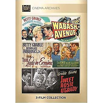 Betty Grable Set [DVD] USA import