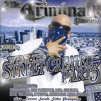 Mr. Criminal-Presents - What the Streets Created Part 3 [CD] USA import