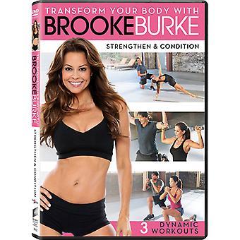 Brooke Burke - transformar seu corpo: Importação EUA reforçar & condição [DVD]