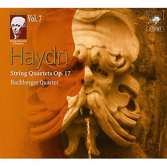 J. Haydn - Haydn: stråkkvartetter, Op. 17 [CD] USA import