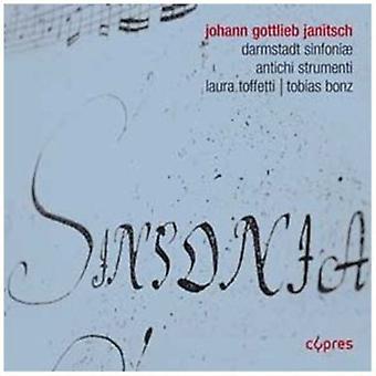 Antichi Strumenti - Johann Gottlieb Janitsch: Darmst Dter Sinfonien [CD] USA import