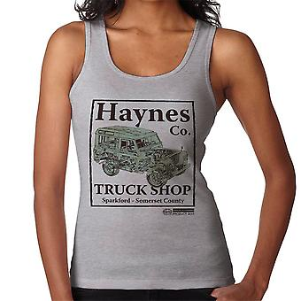 Haynes Brand Truck Shop Sparkford Land Rover Women's Vest
