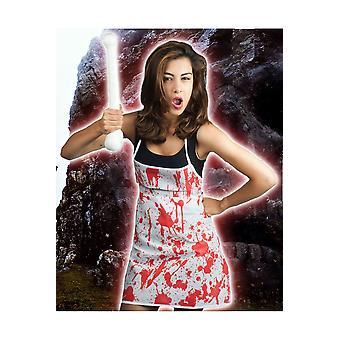 Halloween og gyser Bloody forklæde