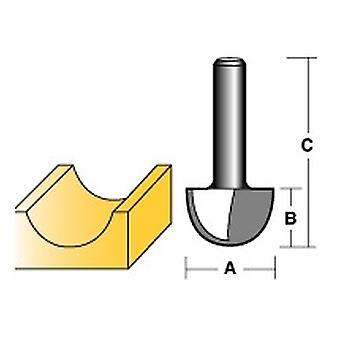 Carbitool - CORE BOX ROUTER BIT 3/8