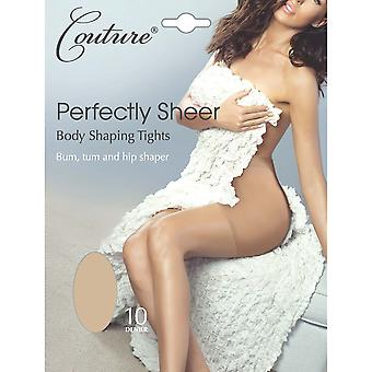 Couture Womens/Ladies Perfectly Sheer Body Shaping Tights (1 Pair)