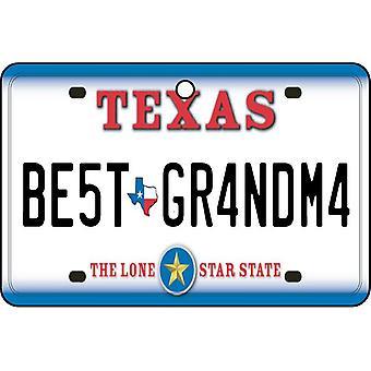 Texas - beste oma License Plate auto luchtverfrisser