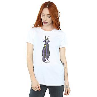 Kobiety Disney's snu piękno klasycznych Maleficent chłopaka Koszulka
