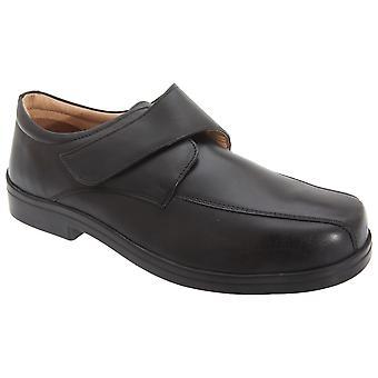 Roamers miesten XXX Extra Wide Touch kiinnitys raitiolinja vapaa-ajan kenkiä