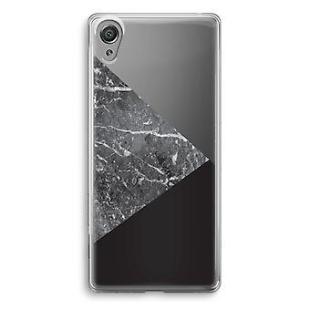 Sony Xperia XA1 przezroczyste etui (Soft) - połączenie marmuru