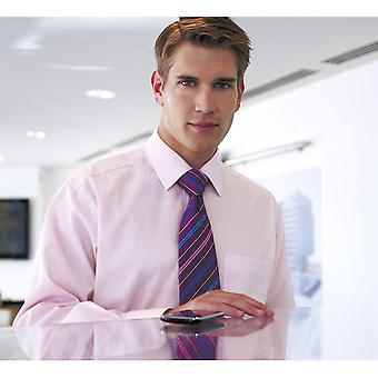 بروك Rapino تافرنر-قميص رجالي مكتب الأكمام الطويلة