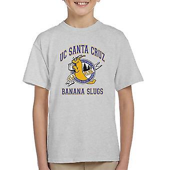 Santa Cruz banaan naaktslakken Californië Kid's T-Shirt