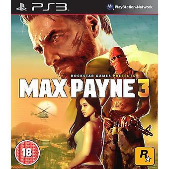 Max Payne 3 (PS3) - Uusi